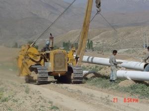 عمليات خط انتقال گاز