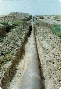 بهسازی خط لوله 26اینچ نفت صادراتی گچساران - گوره