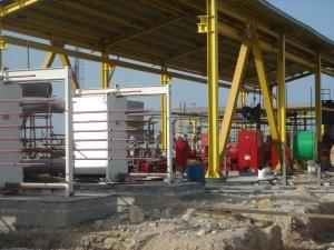 انجام عملیات نصب مکانیکیال واحد یوتیلیتی و ناحیه مخازن طرح اولفین 5