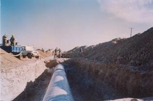 تعويض 15 كيلومتر از پوشش خط لوله سراسري اول